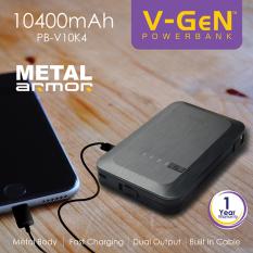 Beli V Gen Powerbank 10400Mah Pb V10K4 Online Terpercaya