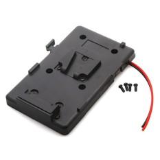 V-Lock V-Mount Battery Plate fr BlackMagic URSA MINI PRO 4K 4.6K Cinema Camera - intl
