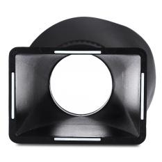 V3 2.8X Kaca Pembesar Layar LCD Bantalan Mata Jendela Bidik Extender Hood untuk Canon 60D 70D-Intl