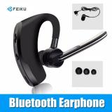 Spek V8 Bisnis Bluetooth Earphone Kebisingan Membatalkan Suara Kontrol Handsfree Wireless Bluetooth Headphone Sport Office Headset Musik Intl Tiongkok