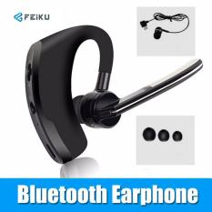 V8 Bisnis Bluetooth Earphone Kebisingan Membatalkan Suara Kontrol Handsfree Wireless Bluetooth Headphone Sport Office Headset Musik-Intl