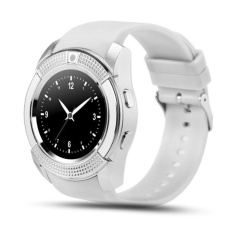 Harga V8 Smart Watch Calling Clock Camera Smartwatch For Android Ios Online