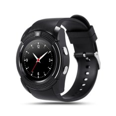 Review Pada V8 Smart Watch Calling Clock Camera Smartwatch For Android Ios Hitam