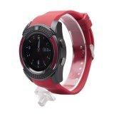 Beli V8 Smart Watch Dengan Sim Tf Sim Card Slot Bluetooth Konektivitas Untuk Smart Phone Kesehatan Monitor Untuk Ios Android Intl Tiongkok