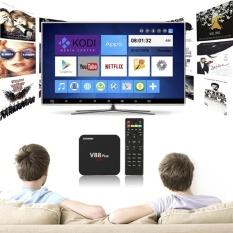 Harga Termurah V88 Plus Tv Box 4 K Resolusi 3D Dukungan Film Android Os Google Play Cpu Quad Core 2 Gb Ram Kodi Tv Dengan American Plug Intl