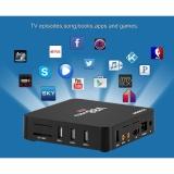 Jual V88 Pro Tv Box S905X Cpu 2 Gb Ram 4 K X 2 K Android 6 3D Film 4 Xusb 16 Gb Memori Dengan Eropa Plug Intl Branded Murah