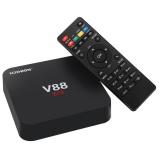 Review Toko V88 Tv Box Android 6 4 K Resolusi 3D Dukungan Film Cpu Quad Core Google Play Kodi 16 1 Wi Fi Dengan Uk Plug Intl