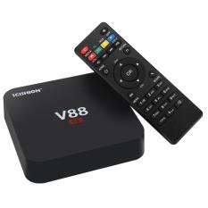 Jual V88 Tv Box Android 6 4 K Resolusi 3D Dukungan Film Cpu Quad Core Google Play Kodi 16 1 Wi Fi Dengan Uk Plug Intl Online Tiongkok