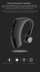 Diskon V9 Handsfree Bisnis Bluetooth Headphone Dengan Mic Kontrol Suara Nirkabel Bluetooth Headset Untuk Drive Noise Cancelling Hitam Intl Tiongkok