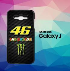 VALENTINO ROSSI THE DOCTOR J0347 Casing Custom Hardcase Samsung Galaxy J5 2016 Case Cover