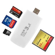 Vanker-Kecepatan Tinggi Semua Dalam 1 USB 3.0 Flash Kartu Memori Reader & Adaptor Writer