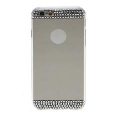 Vanker Perhiasan Mewah TPU Lembut Cermin Menyepuh Dgn Listrik Casing Ponsel untuk iPhone 6/6