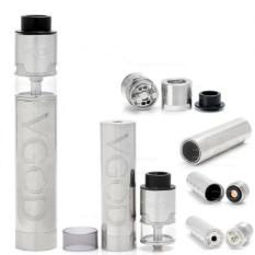 Spesifikasi Vape Vapor Vaporizer Rokok Elektrik Vgod Pro Mech Kit Mod Rdta Full Silver New Edition Dan Harganya