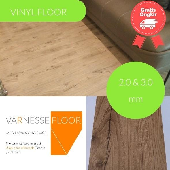 Review Varnesse Floor Lantai Vinyl Vde 4 Athena Cherry Dki Jakarta