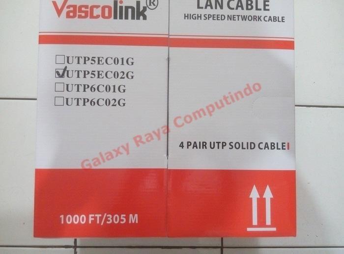 Review Vascolink Kabel Lan Cat5E 1000Ft 305M Vascolink