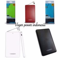Veger V41 Power Bank Slim 10000Mah Original Putih Murah