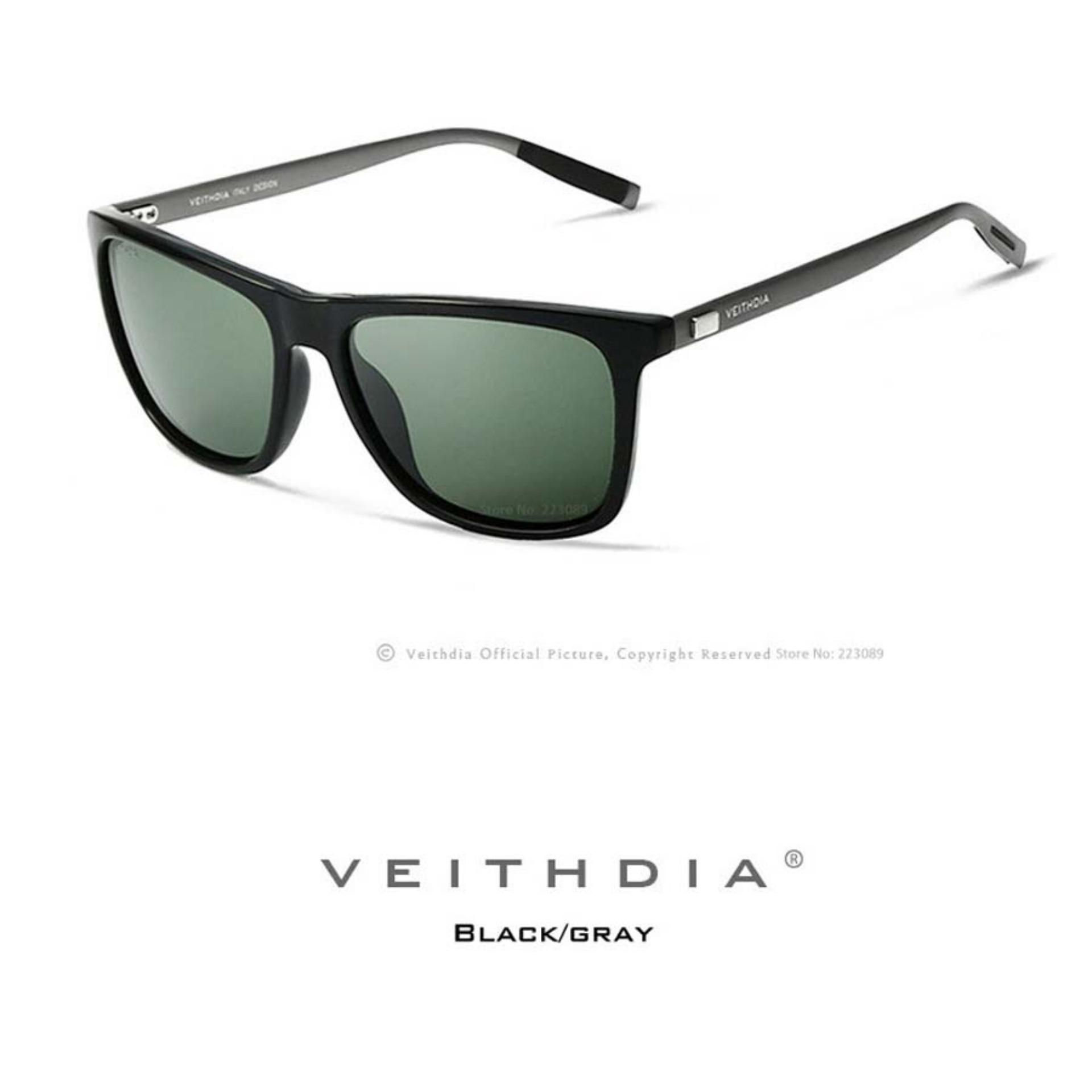 Toko Veithdia 6108 Kacamata Hitam Pria Aluminium Sport Dan Travel Elegant Mirrored Uv400 Polarized Sunglasses Veithdia