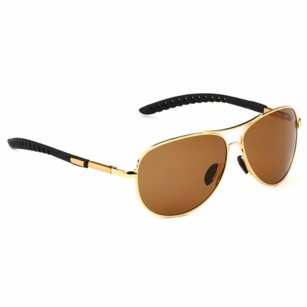 Veithdia Kacamata Aviator Pilot Polarized Sunglasses S1672 Brown Veithdia Diskon 30