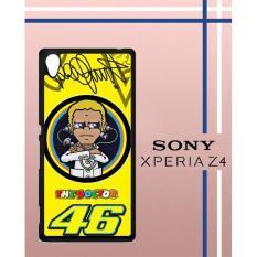 V**Entino Rossi Logo Q0070 Casing Custom Hardcase Hp Sony Xperia Z4 Case Cover 5R0I