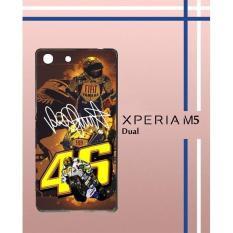 V**Entino Rossi Walpaper Q0065 Casing Custom Hardcase Hp Sony Xperia M5  M5 Dual Case Cover OKLM