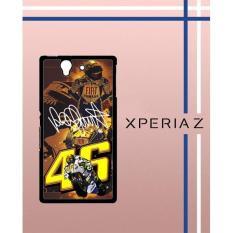 V**Entino Rossi Walpaper Q0065 Casing Custom Hardcase Hp Sony Xperia Z Case Cover YAQM
