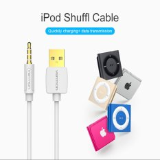 Pusat Jual Beli Vention Cdewf 1 M Apple Ipod Kabel Data Mp3 Pengisian Line Shuffle3 4 5 6 7 Generasi Usb Ke 3 5Mm Putih Tiongkok