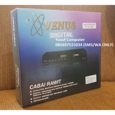 Venus Set Top Box DVB-T2 TV Digital dan Media Player - Hitam