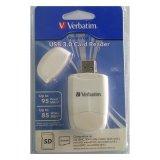 Spesifikasi Verbatim Cardreader Usb 3 Putih Terbaru