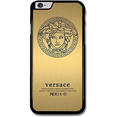 Versace Gold Art Design for Iphone Case with Low Shipping Price with Laser Technology Printing (iPhone 6/6S Black)