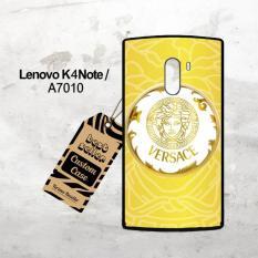 Versace Gold Logo X3254 Lenovo K4 Note Custom Case Cover