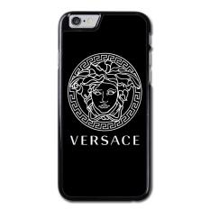 Versace Logo Pola Kasus IPhone 6, IPhone 6 S Case, Hard Case Kulit Penutup untuk IPhone 6 4.7 Inch-Intl
