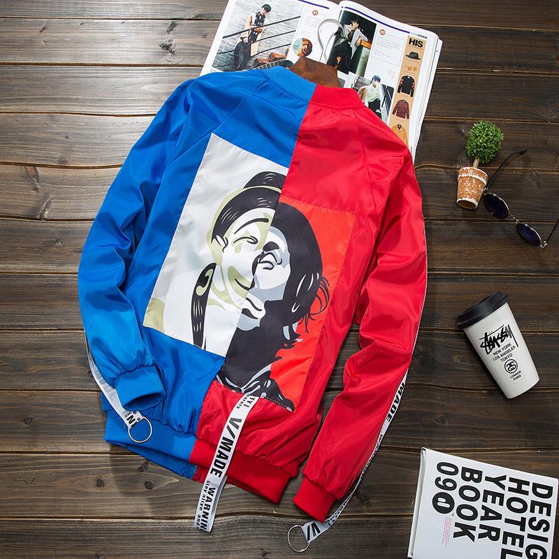 Harga Pakaian Bisbol Pria Model Tipis Versi Korea Merah Pertarungan Biru Merah Pertarungan Biru Online