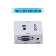 Konverter Vga Ke Hdmi Dengan Audio Dukungan Mendukung Hingga 1920X1080 Resolusi Output Intl Murah