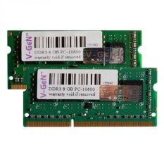 Harga Vgen Ddr3 So Dimm 8Gb Pc 10600 1333Mhz Single Channel Fullset Murah