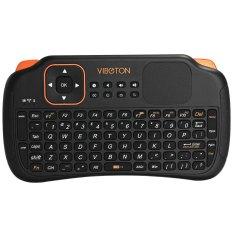 Jual Viboton S1 Semua Dalam Satu 2 4G Keyboard Mouse Nirkabel Ac Remote Kontrol With Komputer Bawah Touchpad For Tablet Kotak Proyektor Tv And Sebagainya Hitam Lengkap