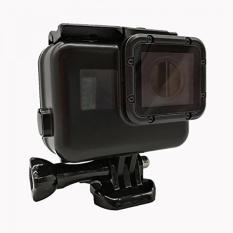 Vicdozia Blackout Waterproof Housing Case Black Pelindung Case Underwater Fotografi untuk GOPRO HERO 5/Hero 6-Intl