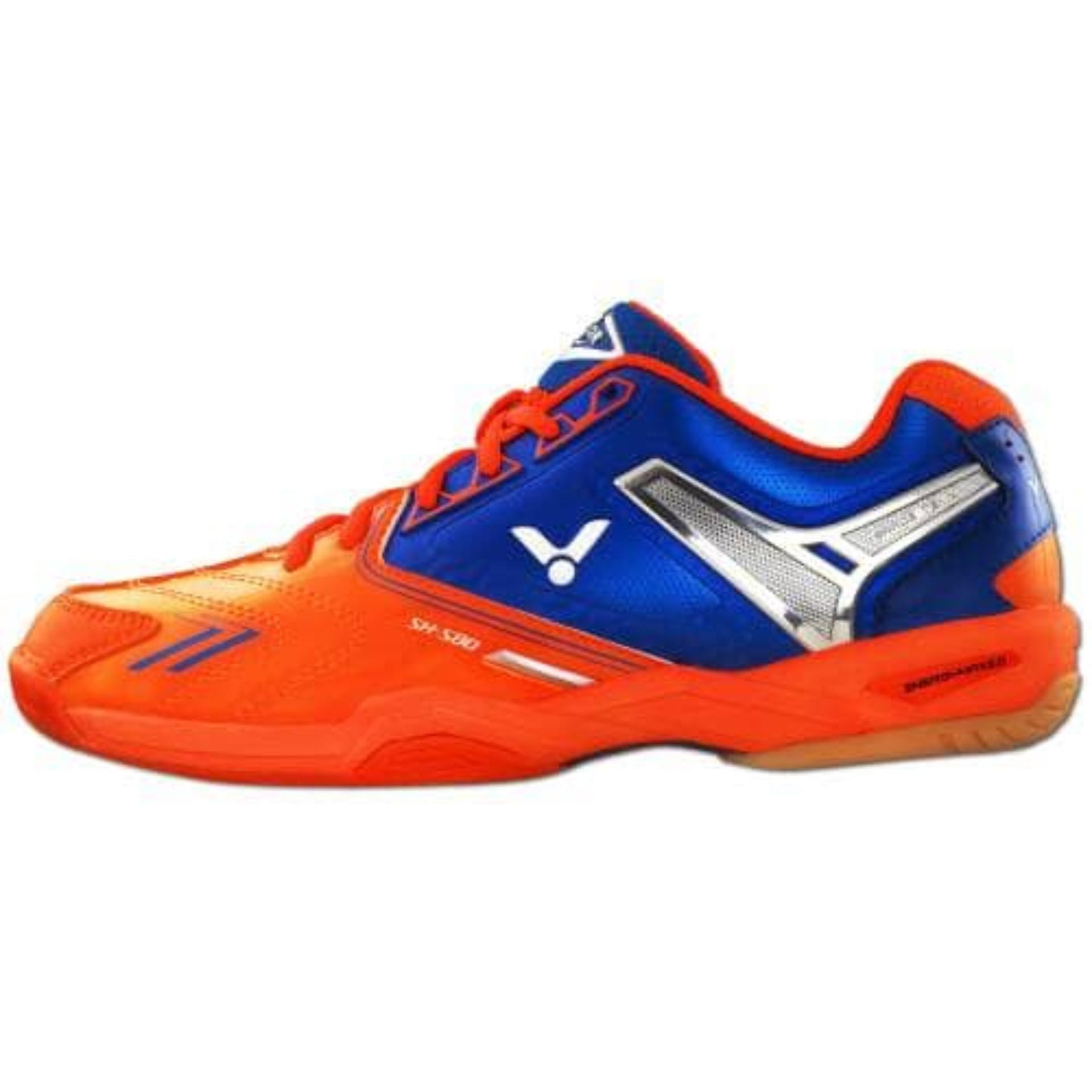 Review Victor Original Sh S80 O Orange New Badminton Sepatu Tennis Victor