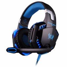 Beli Kemenangan 2017 Baru G2000 Komputer Game Headset Kepala Memakai Stereo Luminescence Biru Intl Baru