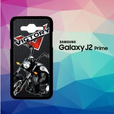 Victory Motorcycles L2441 Casing Custom Hardcase Samsung Galaxy J2 Prime Case Cover