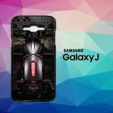 Victory Motorcycles Logo X6207 Casing Custom Hardcase Samsung Galaxy J1 (2016) Case Cover