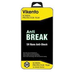 Vikento ANTI BREAK Screen Guard Screen Protector Anti Gores Untuk Sony Xperia M4 / M4 Aqua - Bening
