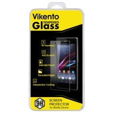 Vikento Tempered Glass Iphone 5 / 5C / 5S Depan dan Belakang - Premium Tempered Glass