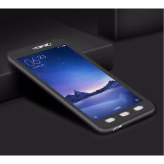 Viking Front Back 360 Degree Full Protection Xiaomi Redmi Note 3 - Black FREE Tempered Glass