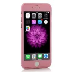 Viking Front Back Protection Case 360 Degree Free Tempered Glass for Iphone 5 / 5s / 5SE 4.0 inch – Rose Gold