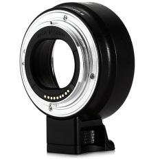 Jual Viltrox Auto Fokus Gunung Adaptor Af Canon Ef M M For Kamera For Ef Lensa With Tumpuan Kaki Tiga Hitam Tiongkok