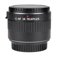 VILTROX C-AF 2X Pembesaran Perpanjangan Telekonventer Auto Focus Mount Lensa untuk Canon EOS EF Lensa untuk Canon EF Lensa 5D II 7D 1200D 760D 750D DSLR Kamera-Internasional