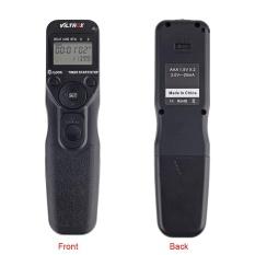 VILTROX JY-710 2.4 GHz FSK Nirkabel Jarak Jauh Rana Pengendali Setel Waktu Lapse Intervalometer Penghitung Waktu dengan C3 Kabel untuk Canon 1D seri 5D 5DII 5 DIII 7D 10D 20D D30 40D 50D-Internasional