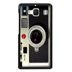 Spesifikasi Vintage Camera Pattern Phone Case For Xiaomi Redmi 2 Black Oem