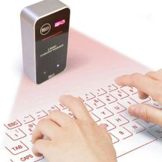 Jual Virtual Laser Projection Keyboard Bluetooth Wireless Touchpad Full Size Keypad With Mouse Black Intl Di Tiongkok