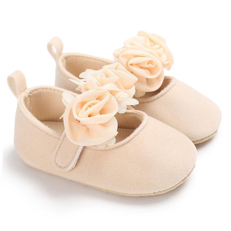 Vishine Mall-Cool Baby Sepatu Balita Sepatu untuk Bayi Anak-anak Bayi Prewalker Tiga Pola Bunga Alas Kaki-Intl